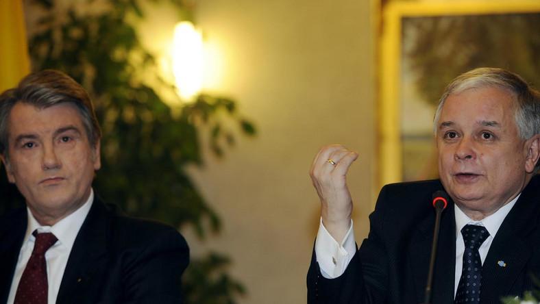 Wiktor Juszczenko może stać się głównym bohaterem afery finansowej związanej z handlem bronią