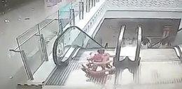Przerażające nagranie! Gdzie była matka tego dziecka?
