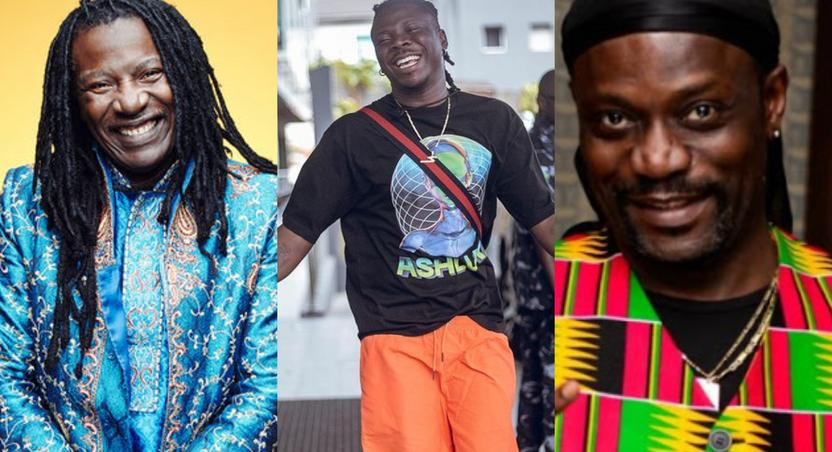 Alpha Blondy, Stonebwoy and Meiway