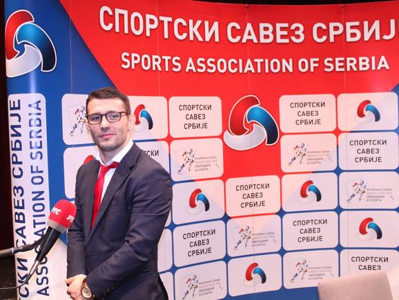 Sportski savez Srbije dobio je nedavno novog predsednika - Davora Štefaneka