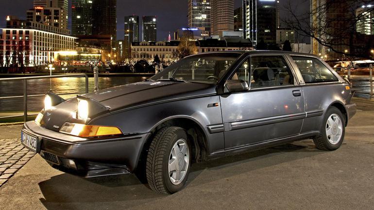 Volvo 480 - zbyt awangardowe jak na swoje czasy