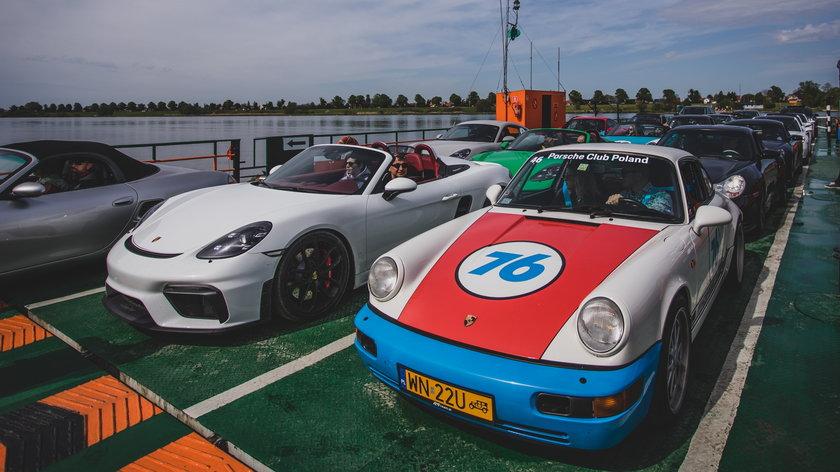 Porsche na Wiśle.