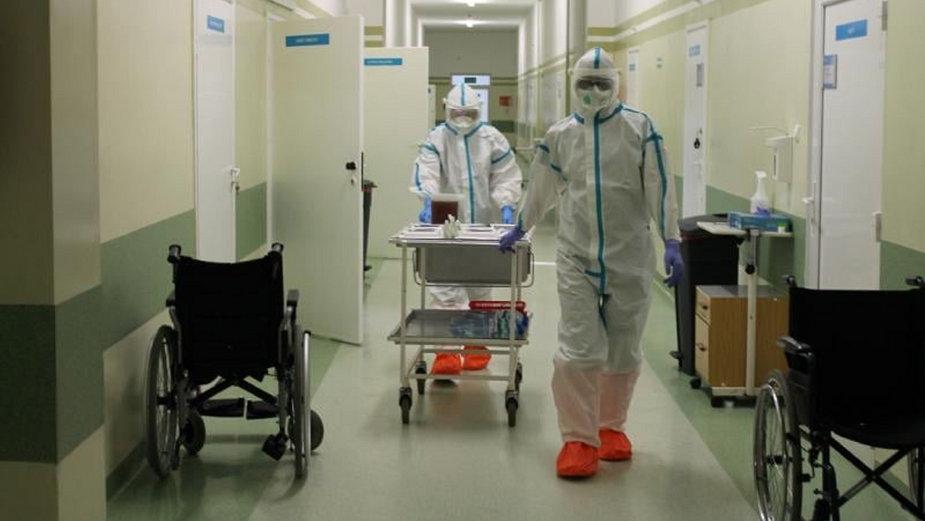 Gorzów: pacjent z COVID-19 zmarł w szpitalnej toalecie