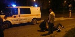 Straż miejska pomogła rannemu motocykliście