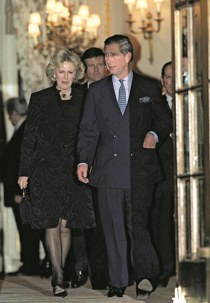 Charles And Camilla At The Ritz