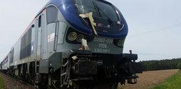 Ciężarówka zderzyła się z pociągiem. Podróżowało nim 80 pasażerów!