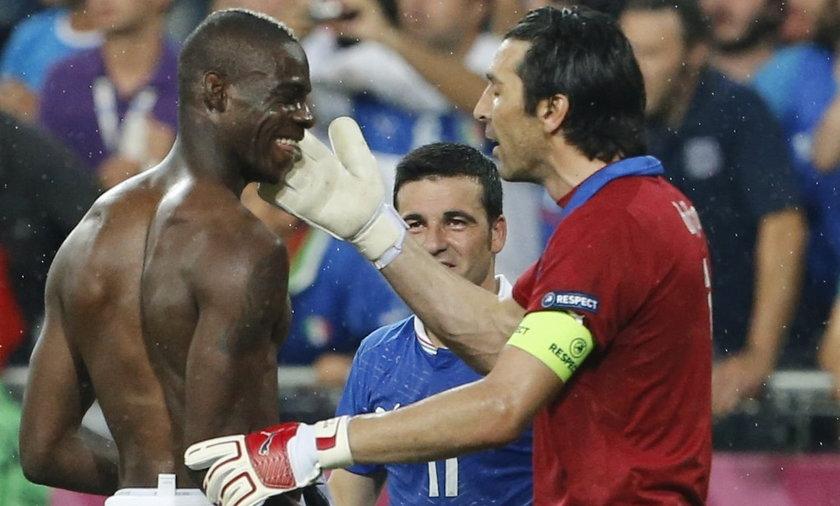 Balotelli pobił się z Buffonem!