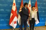 Ana Brnabić, Gruzija, Poseta