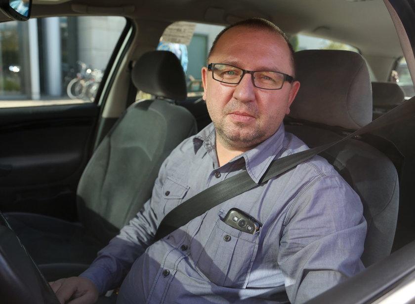 Artur Woś, kierowca