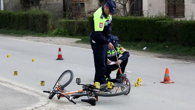 nesreca biciklista
