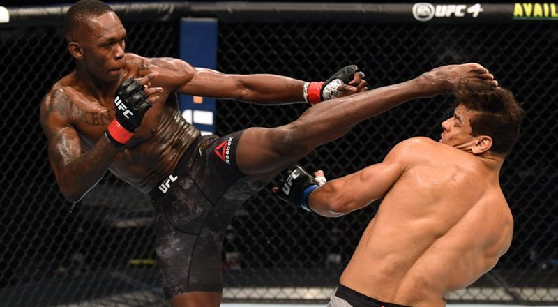 Nigerian UFC star Israel Adesanya knocks out Paulo Costa in 2nd round to retain middleweight title