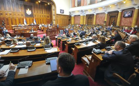 Sednica Skupštine Srbije