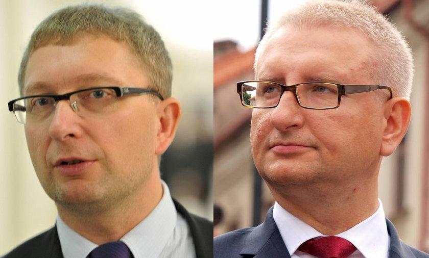 Poseł Artur Górski i Stanisław Pięta.