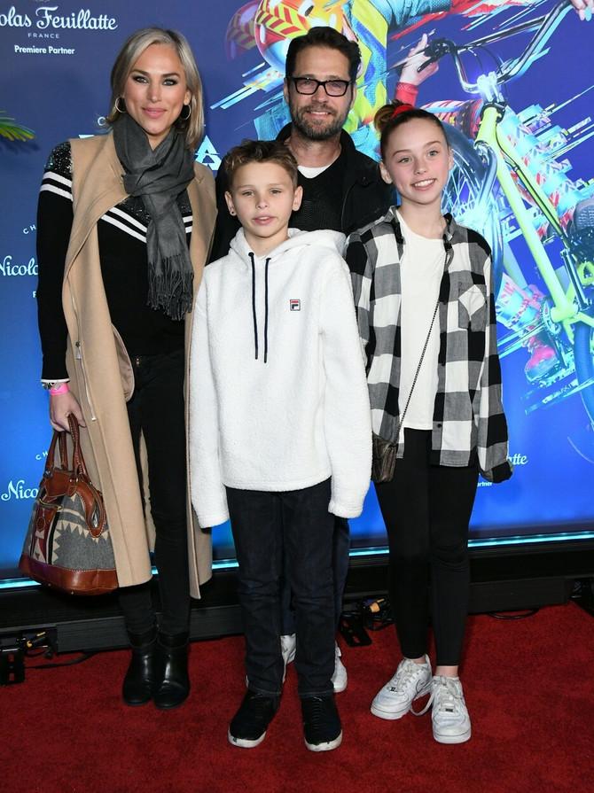 Džejson sa porodicom