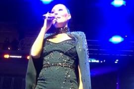 SKINULA OGRTAČ NA SCENI Ceca oborila rekord u Ljubljani, a zbog njenog izgleda publika je OSTALA BEZ TEKSTA (VIDEO)