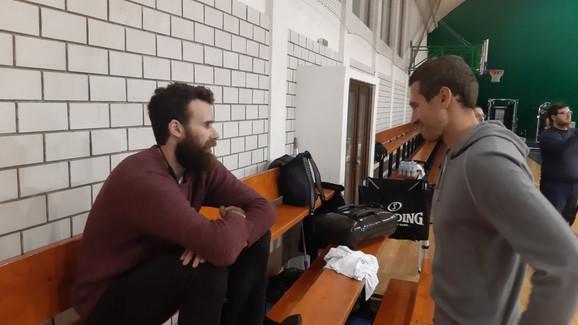 Điđi Datome i Dušan Kecman