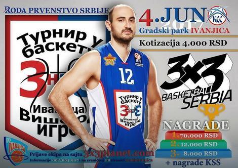 Nenad Krstić promoter turnira u Ivanjici