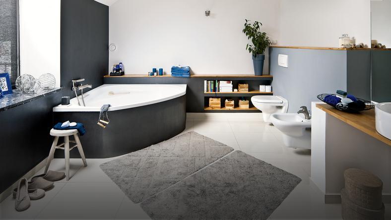 Łazienka w takim miejscu - rzadkość - Dom