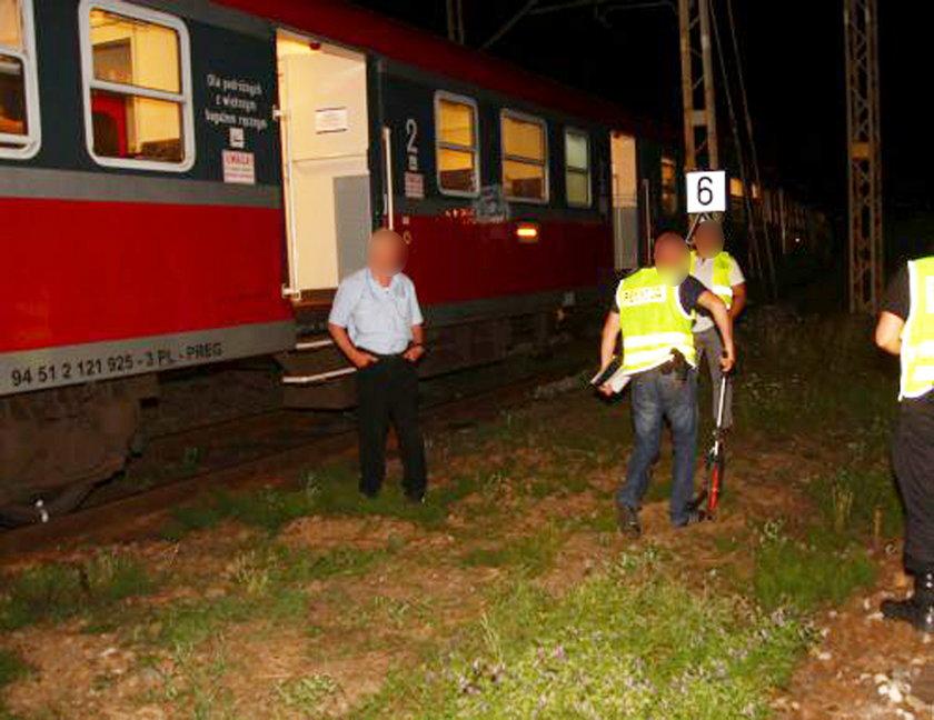 Leżał na torach, najechał na niego pociąg