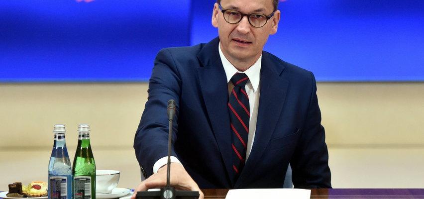 Ostre słowa premiera Morawieckiego: nikt nie będzie nas pouczał, czym jest praworządność