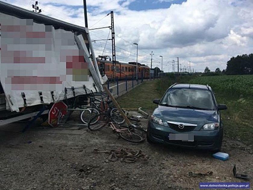Zderzenie z pociągiem