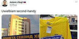 Biały kruk na wyprzedaży. Koszulki (wice)mistrza Polski w rosyjskim lumpeksie