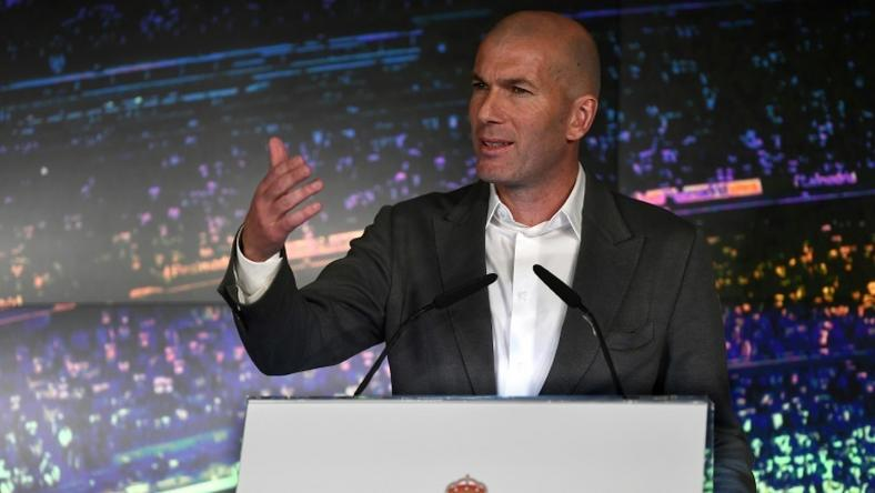 Zidane has returned to Real Madrid despite resigning as coach last year