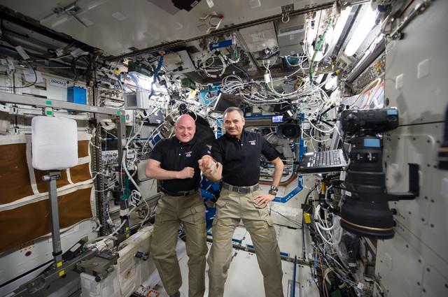 Astronauti tokom boravka u MSS