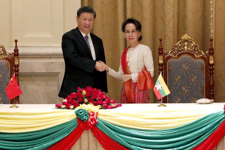Si Đinping i Aung San Su Ći 20200118 ap nyein chan naing naypyitaw Di018120840