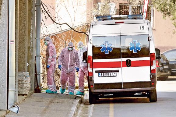Pacijent je na Infektivnu dovezen 21. marta oko 20 časoiva u teškom stanju