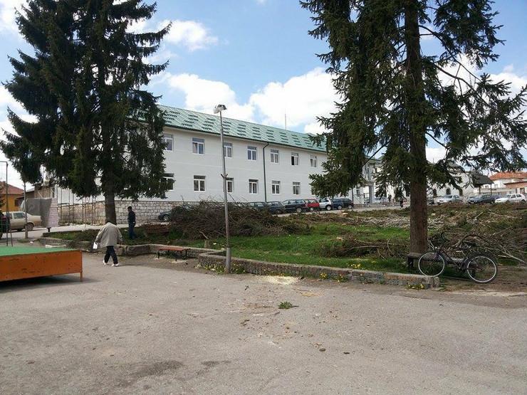 Sjenica, Opština, Zgrada