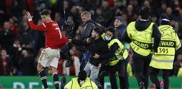 Kibic gonił za Ronaldo, a za nim duża grupa ochroniarzy. Co za sceny!  [WIDEO]
