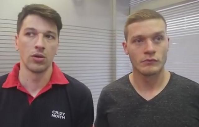 Viktor Savić i Aleksandar Radojičić