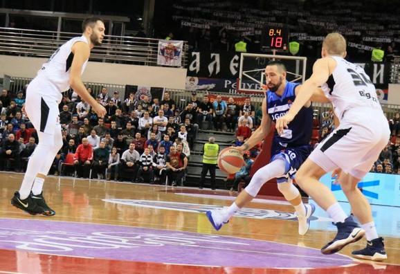 Partizan prekinuo crni niz: Marinković partijom sezone srušio Igokeu