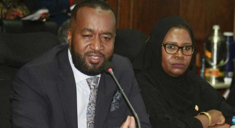 Mombasa Finance CEC Maryam Abdillahi (right) sentenced to 6 months in jail over contempt of court