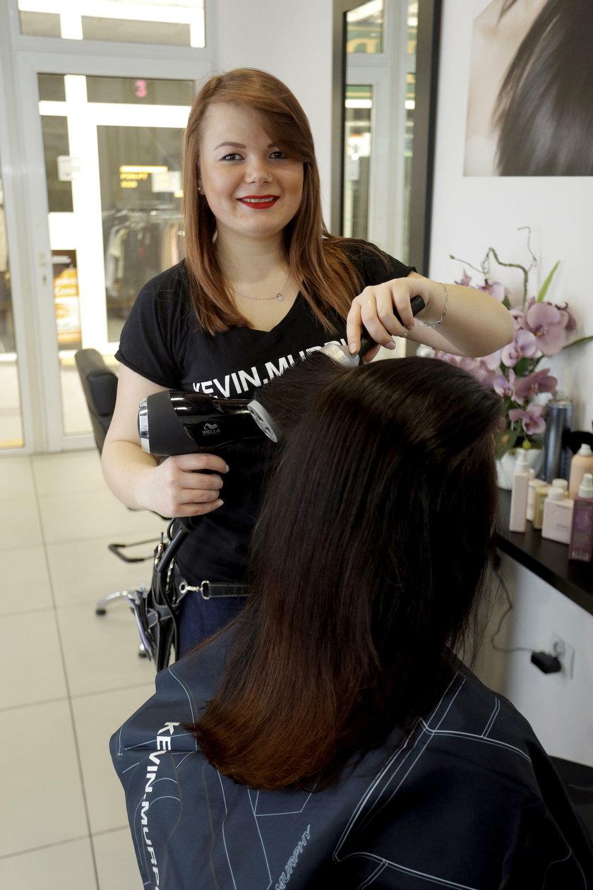 Sylwia Kuchenna (25 l.), fryzjerka
