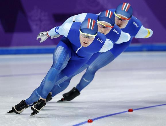 Norveški tim u brzom klizanju
