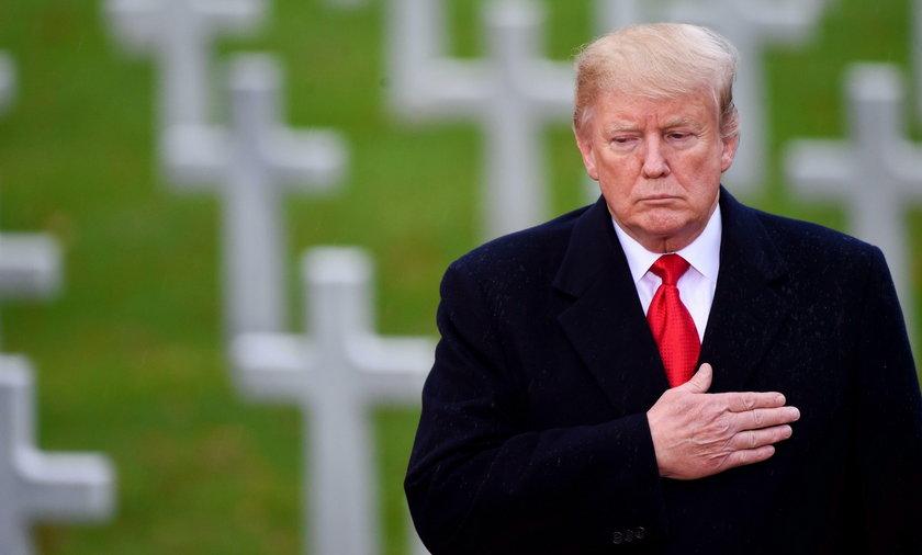 Trump opłakuje Busha