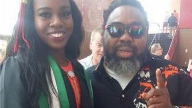 Ras Kimono Veteran reggae star's daughter graduates from