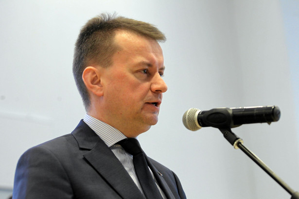 Minister MSWiA Mariusz Błaszczak, Fot . Przemek Wierzchowski / Agencja Gazeta