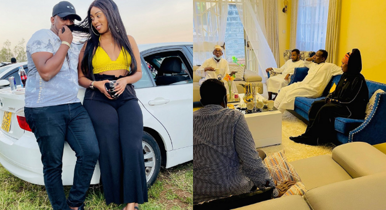 Jamal Rohosafi finally Introduces Lover Amber Ray to his Family (Photos)