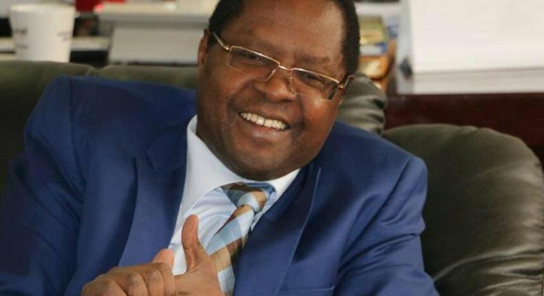 Embu Governor Martin Wambora during an interview
