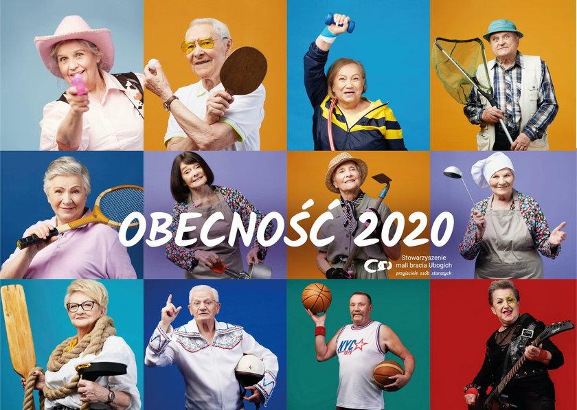 """Kalendarz """"Obecność 2020"""""""