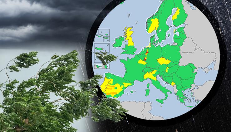 evropa vreme kombo