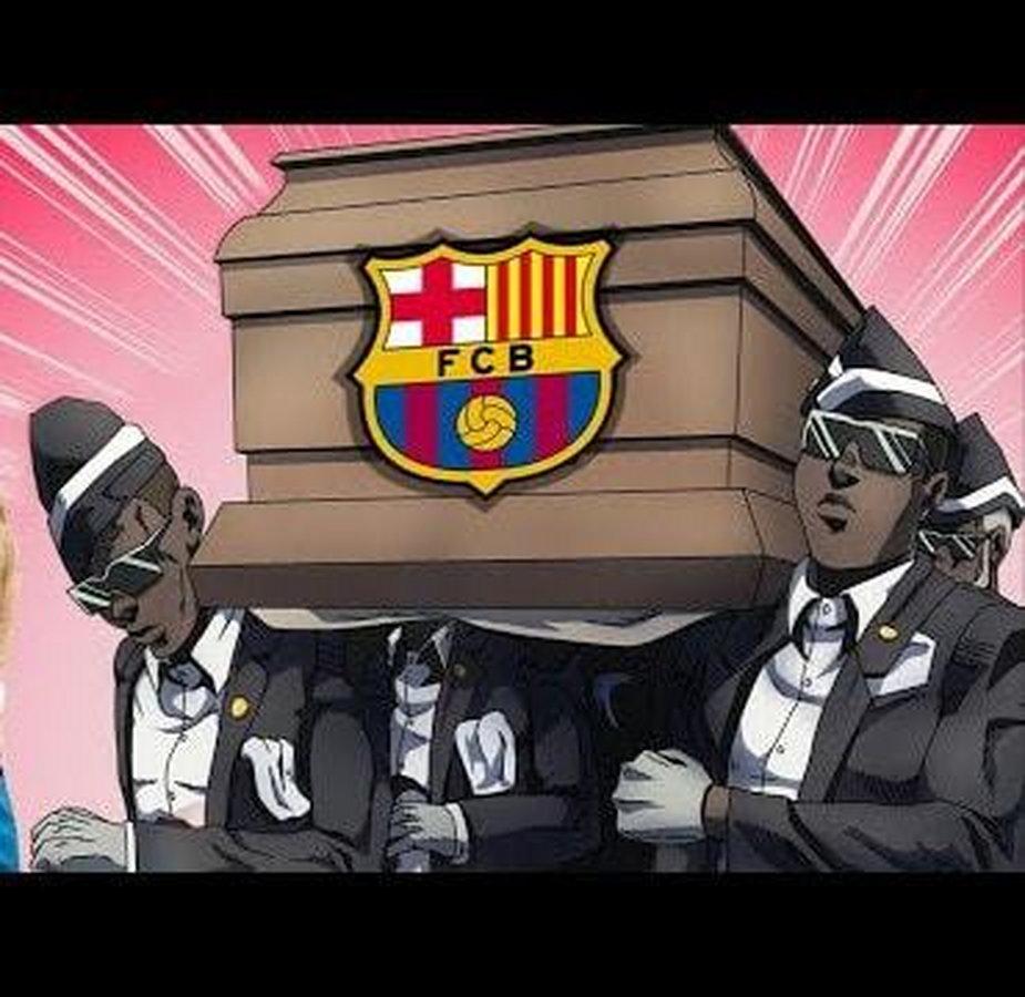 Memy po meczu FC Barcelona - Bayern Monachium