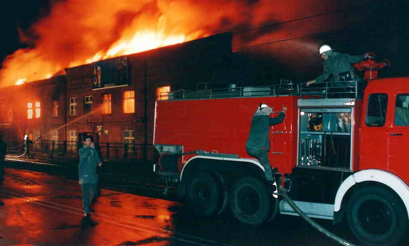 Mija 23. rocznica pożaru w hali Stoczni Gdańskiej