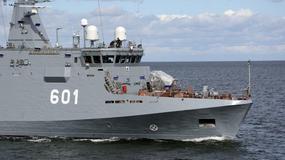 ORP Kormoran odebrany. Nowy okręt oficjalnie dołącza do polskich sił zbrojnych