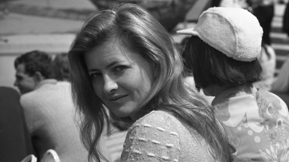 Stenia Kozłowska w 1971 r.