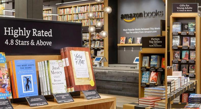 Amazon opens its first physical bookstore today