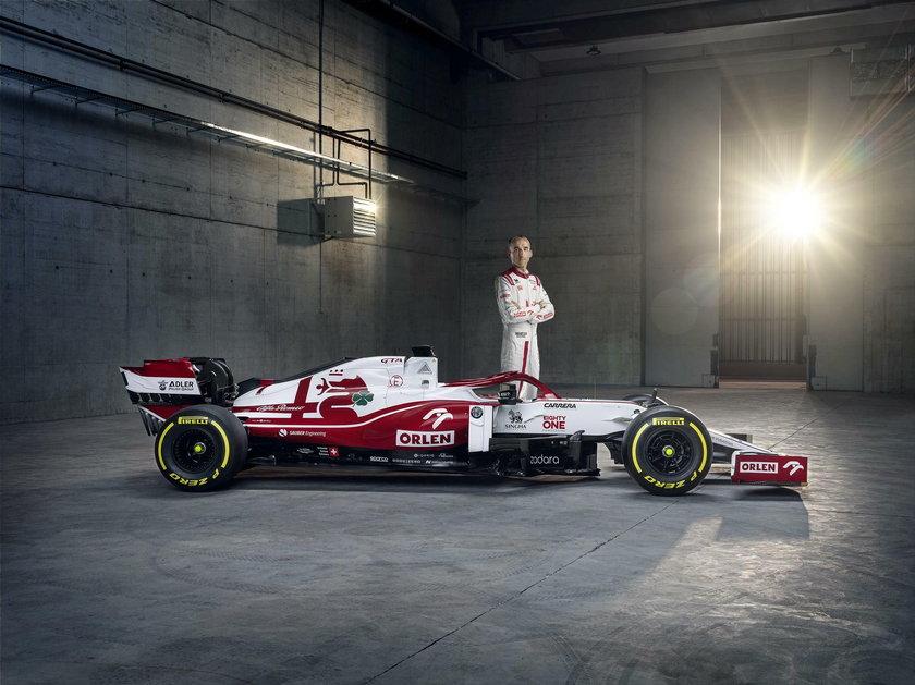 Robert Kubica, Alfa Romeo, prezentacja bolidu 2021